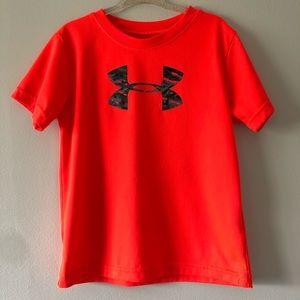 Under Armour Heat Gear Neon T Shirt
